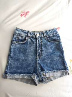 Bershka High-waisted Shorts