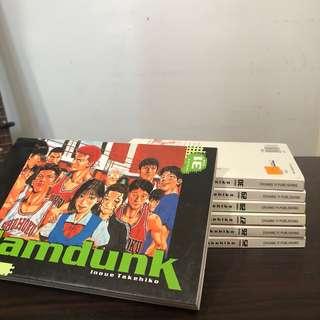 Slam Dunk Volume 25-31 (English) SET