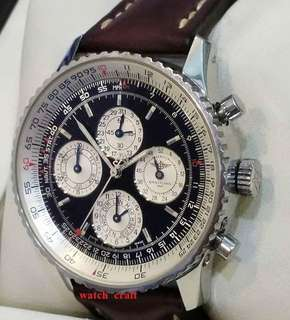 Preloved Limited Edition Breitling Navitimer 1461 - 52 Week Automatic 41.5mm Full Set