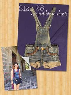 Convertible Jumper & Shorts