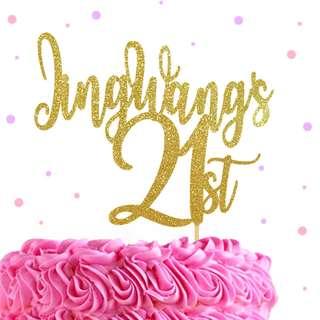 🚚 Custom Birthday Cake Topper, Wedding Cake Topper
