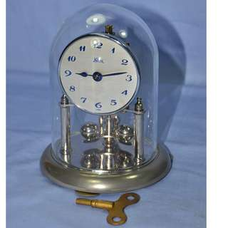 ANTIQUE VINTAGE KOMA GERMANY MECHANICAL ANNIVERSARY CLOCK