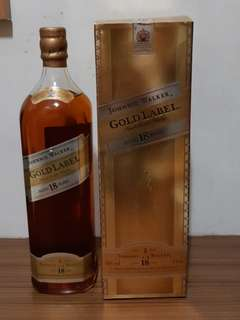 Johnnie walker Gold label 18yo 1000ml