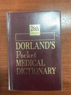 Dorland's Pocket Medical Dictionary (26th Edition)