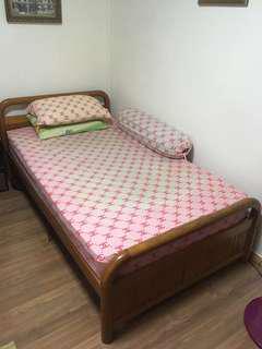 Super Single Solid wood BED FRAME ONLY