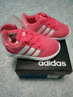 Baby Girl Shoes Adidas lite racer ( original )