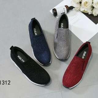 [KELSEY WEDGES JOGGER 1312] Sepatu Fashion Wanita Impor Murah
