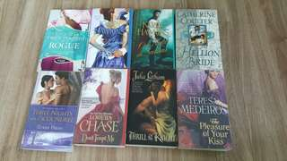 Lots of historical Romance books