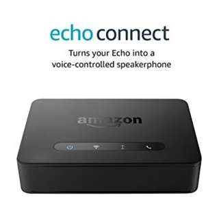 Amazon Echo Connect Hands Free Calling Echo device home phone service