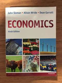 John Sloman Economics Textbook Ninth Edition