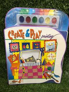 Create and Play Painting book