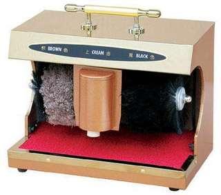 Shinny shoe polish machine
