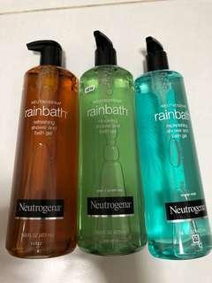 (UP:17.90)NEUTROGENA Refreshing Shower & Bath Gel (Pear & Green Tea) (Oceon Mist) 473ml