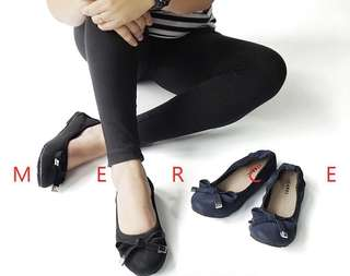 Ribbon Woman Flatshoes Basic