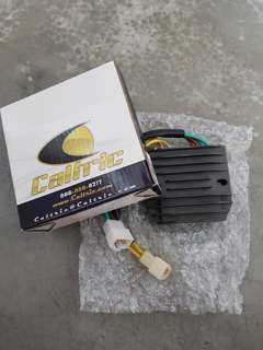 Caltric rectifier for triumph street triple 2012