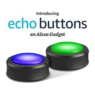 Amazon Echo Buttons an Alexa Gadget with 2 Buttons Per Pack