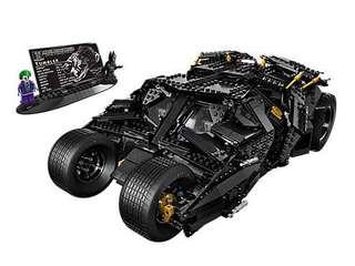 Lego 76023 已砌 齊件 包人仔 99%新