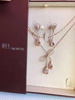 周生生寶石首飾(chow sang sang jewellery set )