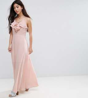 New Look Baby Pink Maxi Dress
