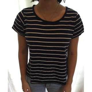 Blue Stripped T-shirt