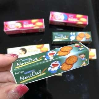 🚚 3D Realistic Miniature Magnet - Doraemon Nori Oat Seaweed Wheat