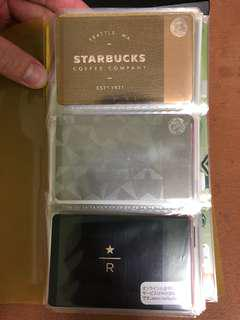 Luxury Limited Edition Starbucks Cards