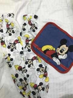 Mickey pillow case original