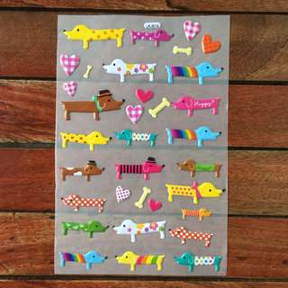Puff Stickers (dogs)