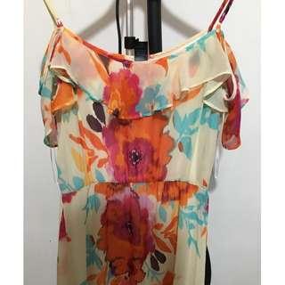 Floorlength Floral Dress