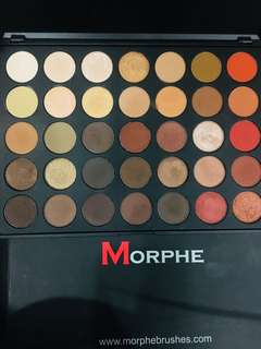 Authentic MORPHE 350 eyeshadow Palette
