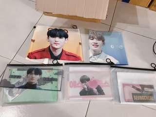 wts seventeen korea fansite goods