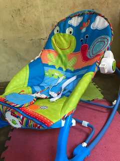 Preloved Fisher price baby rocker