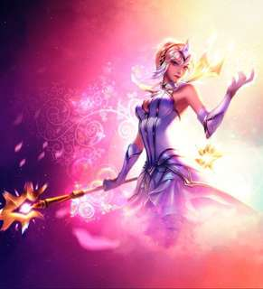 League Of Legends Account << Elementalist Lux >>