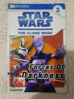 DK Readers Reading Alone Level 3 Star Wars The Clone Wars Forces of Darkness