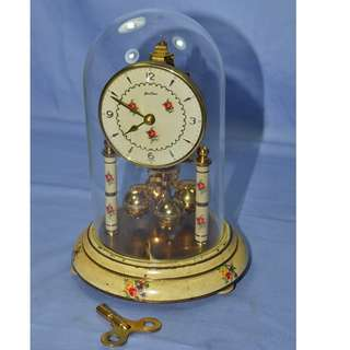 ANTIQUE VINTAGE BENTIMA GERMANY MECHANICAL ANNIVERSARY CLOCK