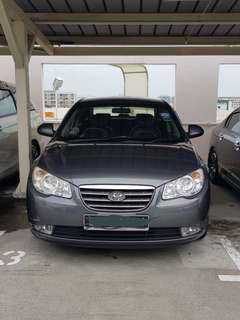 Hyundai Avante 1.6A for Rent