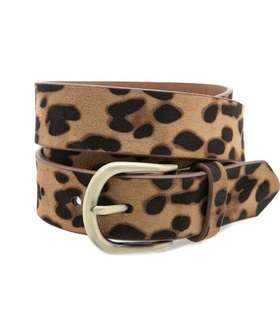 Stradivarius Animal Print Belt