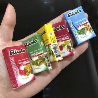 🚚 3D Realistic Miniature Magnet - Ricola Swiss Herbal Mint
