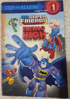Step Into Reading Step 1 DC Super Friends Flying High