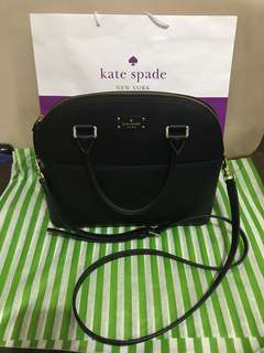 Kate Spade Grove Street Satchel Leather Bag