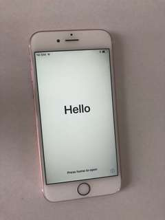 Rose gold iPhone6s 128gb