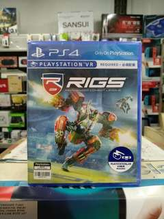 🆕 PS4 RIGS : Mechanized Combat League ( Playstation VR )