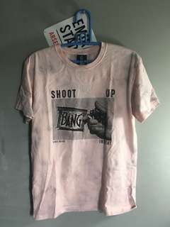 Insight Shoot Up Tee Pink