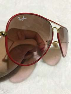 RayBan ORB3025JM AVIATOR FULL COLOR - Red/Gold