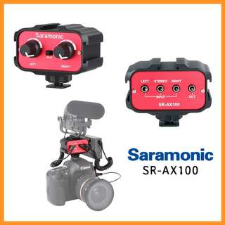 Saramonic SR-AX100 Universal Audio Adapter (3.5mm Inputs) DSLR