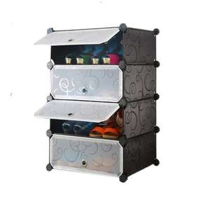 DIY 1 x 4 Shoe Rack Wardrobe Box Storage Closet Organizer