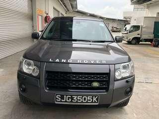 Land Rover Freelander 2,  3.2cc 2008/10 Mileage 115k  19.2k