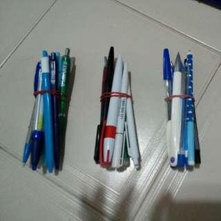 Pens blue/black