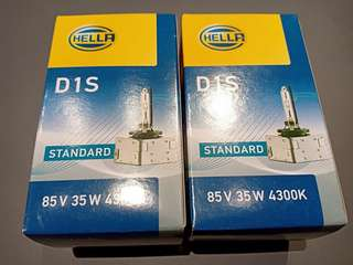 Xenon bulb HID D1S brand hella