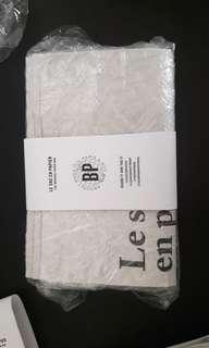 Le sac en papier / craft paper basket